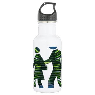 GREEN Walk Earth Environment Wild Habitat NVN239 532 Ml Water Bottle