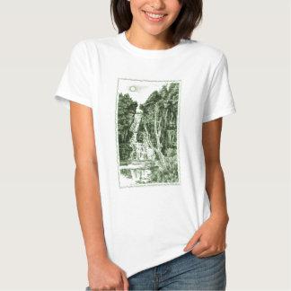 Green Waterfalls Tshirt