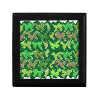 Green Wild Jungle n Deer Roaming Gift Box