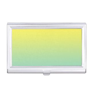 Green & Yellow Ombre Business Card Cases