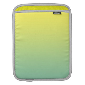 Green & Yellow Ombre iPad Sleeve