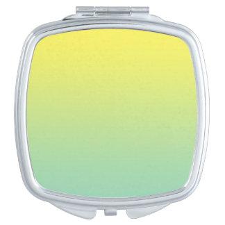 Green & Yellow Ombre Vanity Mirrors
