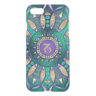 Green Zodiac Sign Capricorn Mandala Uncommon Case