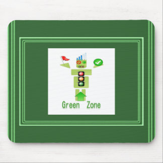 GREEN Zone Mouse Pad