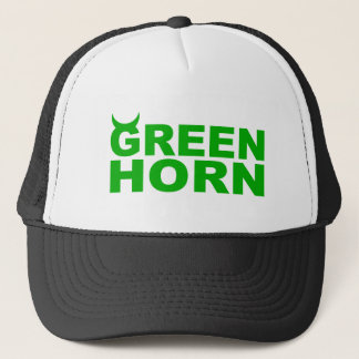 greenhorn trucker hat