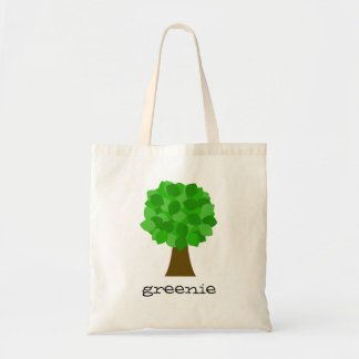 greenie tote bag