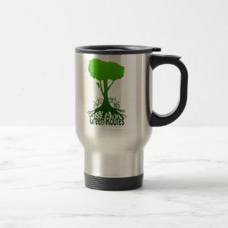 GreenRoutes Logo Stainless Steel Travel Mug