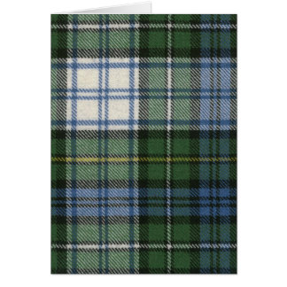 Greeting Card Campbell Dress Ancient Tartan