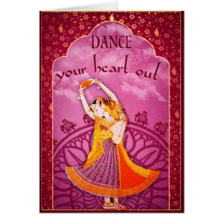 Greeting Card, Dance your heart out. Card