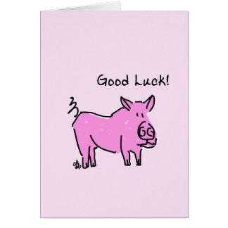 Greeting card - Good Luck