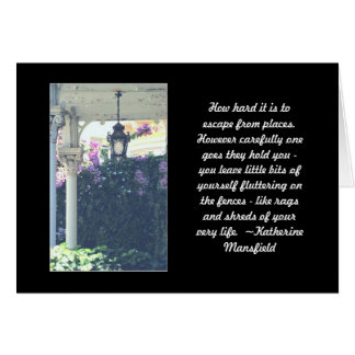 GREETING CARD, NEW HOME, PHOTOGRAPHY + QUOTE