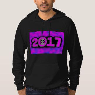 Greetings 2017 Unisex Black Pullover Hoodie