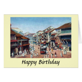 Greetings Card - Mumbai, Pydownie Street