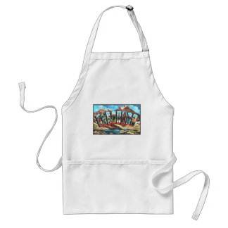 Greetings From Colordao Standard Apron
