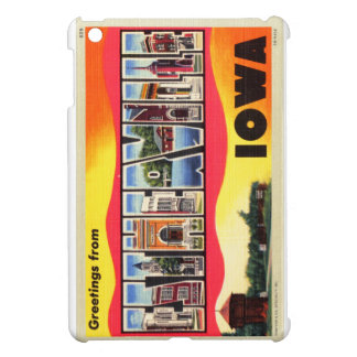 Greetings From Estherville, Iowa Letter Postcard Case For The iPad Mini