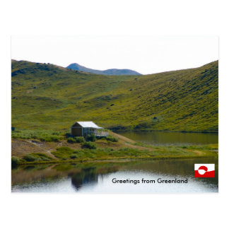 Greetings from Greenland 4 Postcard