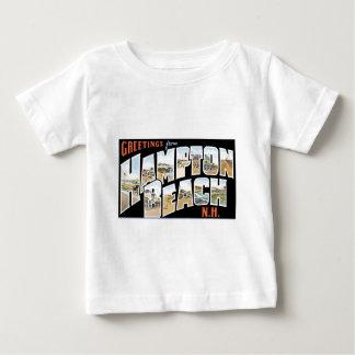 Greetings from Hampton Beach, New Hampshire! Baby T-Shirt