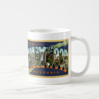 Greetings from Hollywood Postcard Coffee Mug