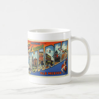Greetings from Juarez Vintage Postcard Coffee Mug