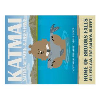 Greetings from Katmai National Park & Preserve Postcard