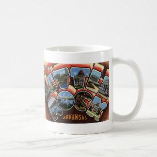 Greetings from Little Rock, AR Postcard Coffee Mug