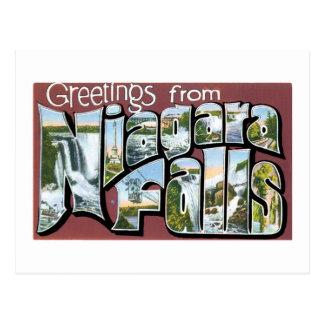 Greetings from Niagara Falls! Vintage Postcard