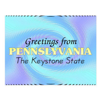 Greetings from Pennslyvania Postcard