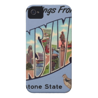 Greetings From Pennsylvania iPhone 4 Cover