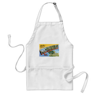 Greetings from Providence, Rhode Island! Adult Apron