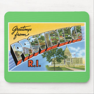 Greetings from Providence, Rhode Island! Mouse Pad