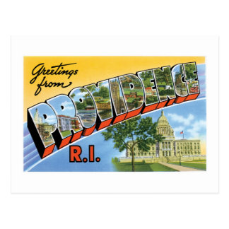 Greetings from Providence Rhode Island Post Cards