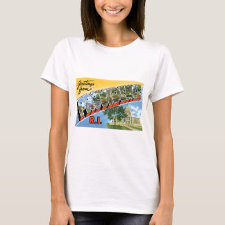 Greetings from Providence, Rhode Island! T-Shirt