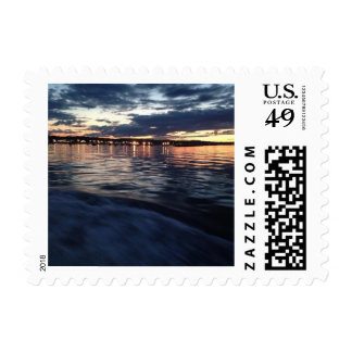Greetings from the Sea Postage Stamp