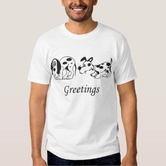 Greetings T-shirts