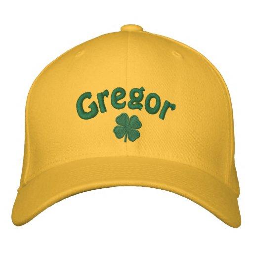 Gregor - Four Leaf Clover Baseball Cap