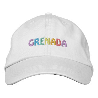 GRENADA cap Embroidered Hats