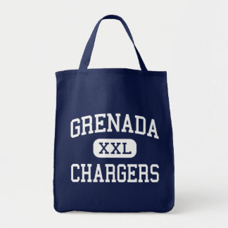 Grenada - Chargers - High - Grenada Mississippi Tote Bags