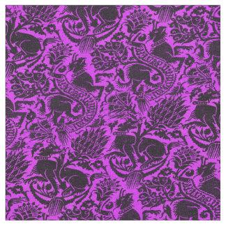 Grenoble Purple Fabric