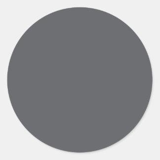 GREY 1 DARK Color Shades: Organizing Writing Tools Sticker