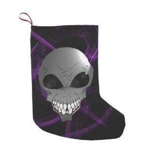 Grey alien Custom Christmas Stocking