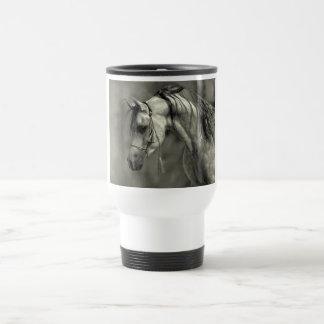 Grey Arabian Travel Mug
