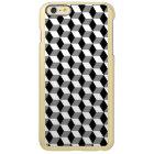Grey, Black & White 3D Cubes Pattern
