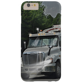Grey Cattle Feed Cistern Truck for Truckers & Kids Barely There iPhone 6 Plus Case