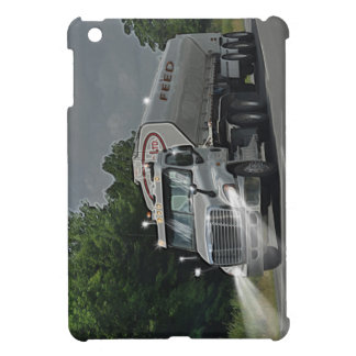 Grey Cattle Feed Cistern Truck for Truckers & Kids iPad Mini Cover