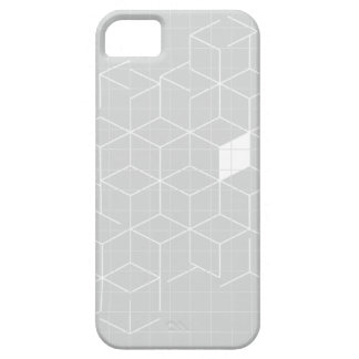 Grey Cubic Constellation iPhone 5 Cover