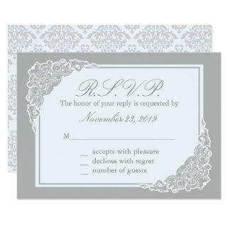 Grey Elegance, Victorian Response Cards