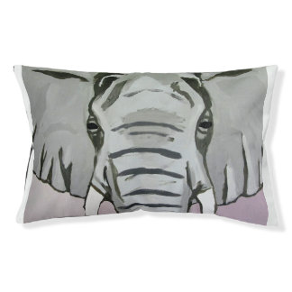Grey Elephant Dog Bed