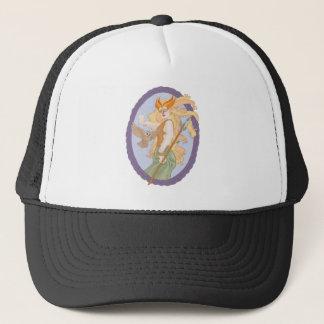Grey Eyed Athena Trucker Hat