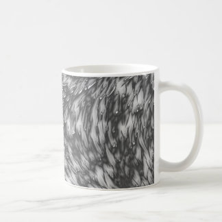 Grey Metal Rough Surface Coffee Mug