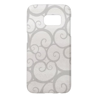 Grey Pattern Samsung Galaxy S7, Barely There